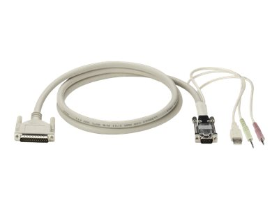 Black Box ServSwitch Ultra USB Coax CPU Cable - keyboard / video / mouse (KVM) cable - 3 m