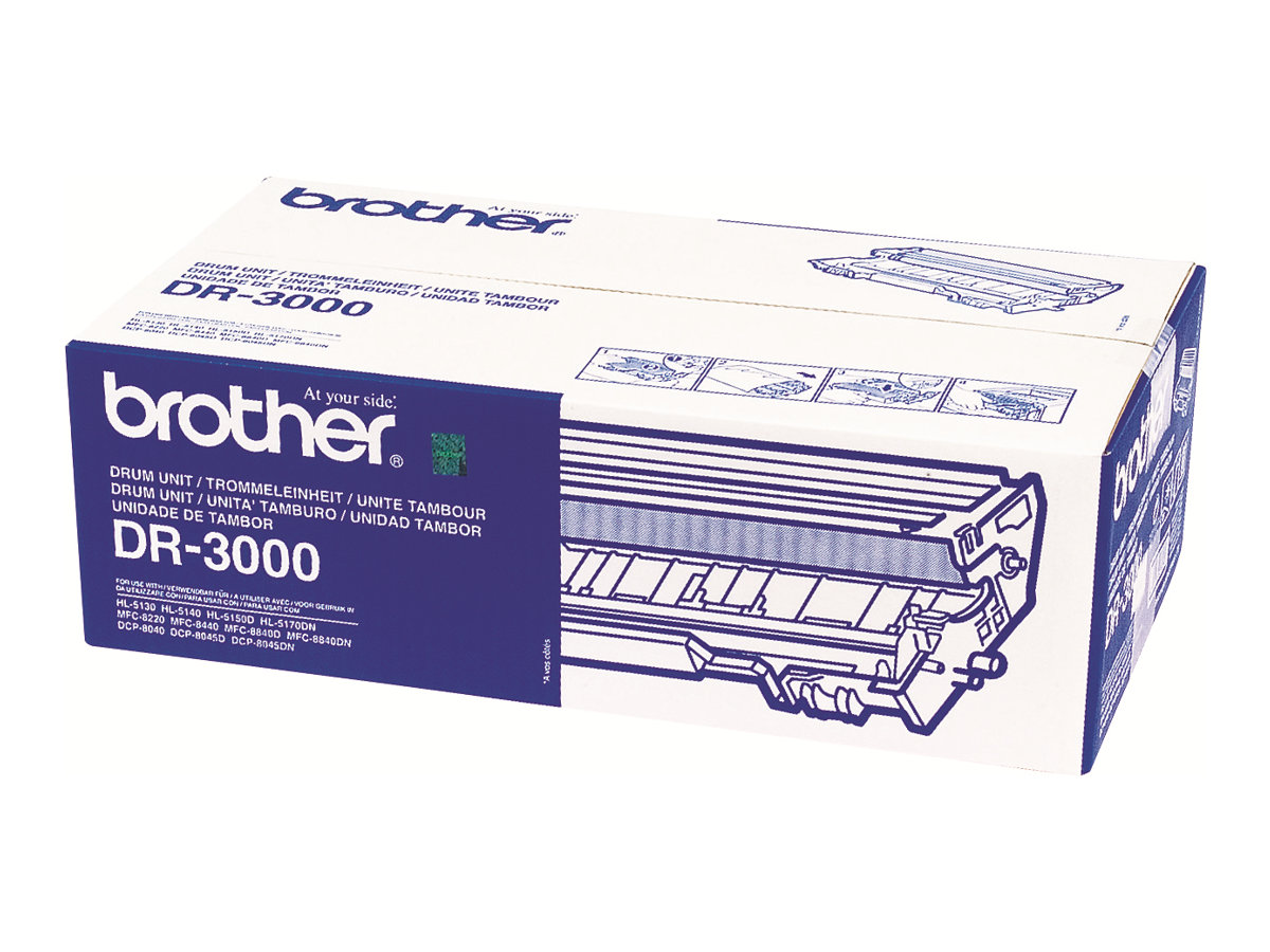 Brother DR3000 - 1 - Trommel-Kit - für Brother DCP-8040, 8045, HL-5130, 5140, 5150, 5170, MFC-8220, 8440, 8840