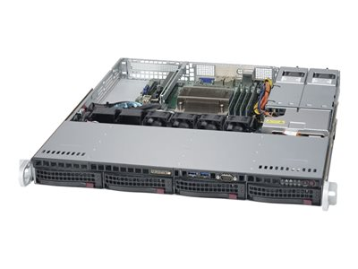 Supermicro SuperServer 5019S-MR - rack-mountable - no CPU - 0 GB - no HDD