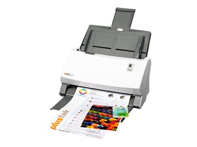 Plustek SmartOffice PS506U - Document scanner - Duplex - 9.6 in x 200 in - 600 dpi x 600 dpi - up to 50 ppm (mono) / up to 45 ppm (color) - ADF (100 sheets) - up to 6000 scans per day - USB 2.0