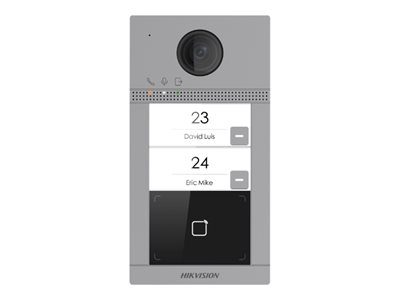 Hikvision DS-KV8213-WME1 IP intercom station wireless, wired Wi-Fi 13.56 MHz