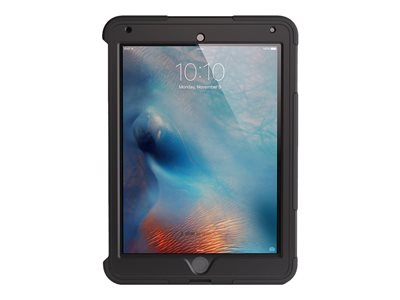 Griffin Survivor Slim - Protective case for tablet - rugged - silicone, polycarbonate - black - for Apple 9.7-inch iPad Pro
