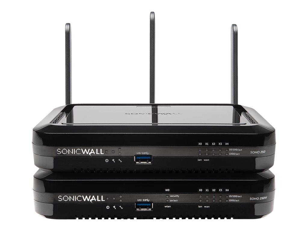 SONICWALL SOHO 250 WIRELESS-N INTL TOTALSECURE ADVANCED EDITION