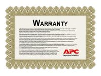APC Extended Warranty - extended service agreement - 2 years