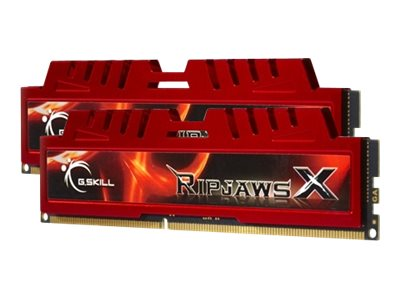 G.Skill Ripjaws-X - DDR3 - 16 GB : 2 x 8 GB - DIMM 240-PIN - 1600 MHz / PC3-12800 - CL10