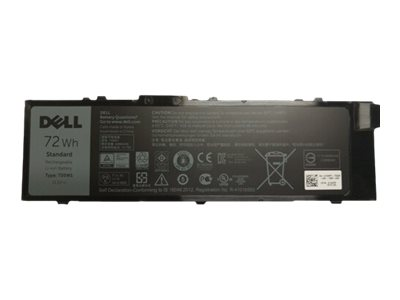 Dell Primary Battery - notebook battery - Li-Ion - 72 Wh