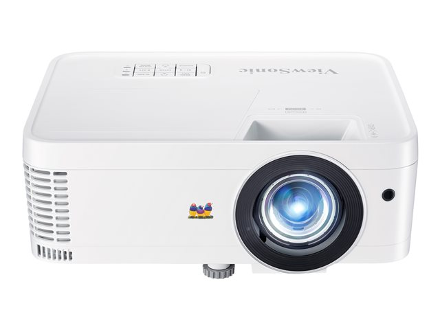 ViewSonic 1080p Short Throw Home Theater and Gaming PX706HD - Projecteur DLP - 3D - 3000 ANSI lumens - Full HD (1920 x 1080) - 16:9 - 1080p
