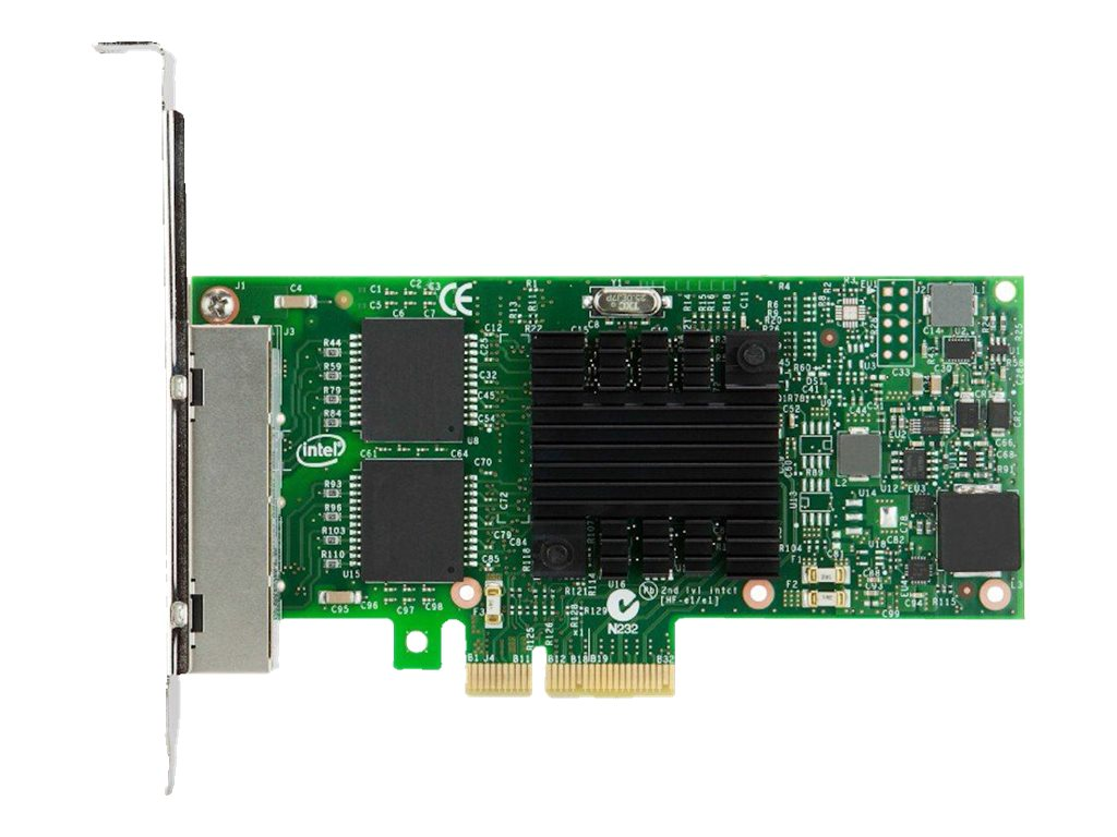 Intel I350-T4 4xGbE BaseT Adapter for IBM System x - network adapter - PCIe 2.0 x4 - Gigabit Ethernet x 4