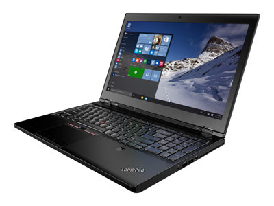 Lenovo ThinkPad P50 20EN Core i7 6820HQ / 2.7 GHz Win 10 Pro 64-bit 16 GB RAM  image