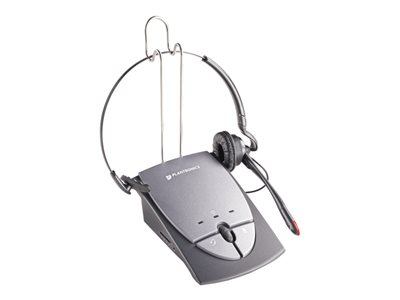 Plantronics S12 - headset - with amplifier