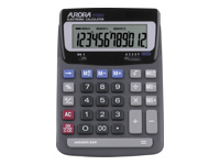 AURORA DT85V - Desktop calculator - 12 digits - solar panel, battery