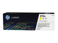 HP 312A - Yellow - original - LaserJet - toner cartridge ( CF382A ) - for Colour LaserJet Pro MFP M476dn, MFP M476dw, MFP M476nw