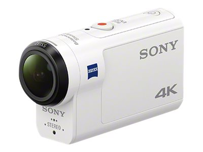 Sony Action Cam-FDR-X3000 Action camera mountable 4K / 30 fps 8.57 MP Carl Zeiss