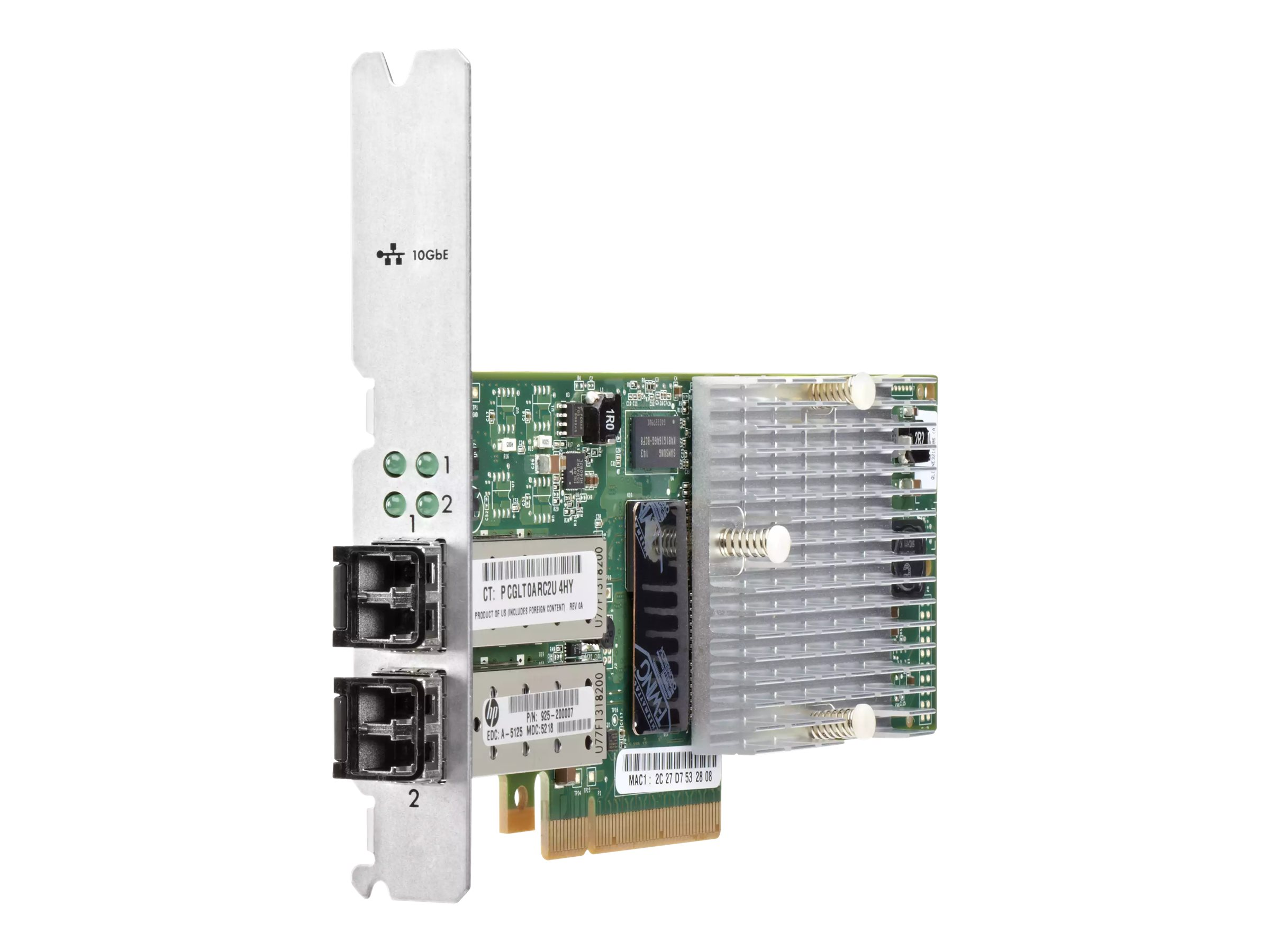 HPE - network adapter - Gigabit Ethernet (iSCSI) x 2