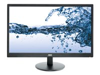 "AOC E2270SWN - Écran LED - 21.5"" (21.5"" visualisable) - 1920 x 1080 Full HD (1080p) - 200 cd/m² - 5 ms - VGA - noir"