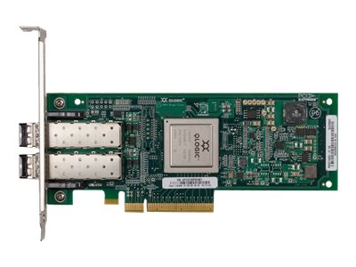Lenovo ThinkServer QLE2562 Dual Port 8 Gb Fibre Channel HBA by Qlogic - Hostbus-Adapter - 8Gb Fibre Channel x 2 - für ThinkServer RD340; RD350; RD440; RD450; RD540; RD640; TD340; TD350