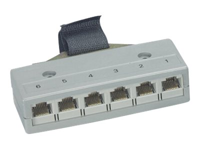 Black Box Drop Split Adapter T568B - network splitter