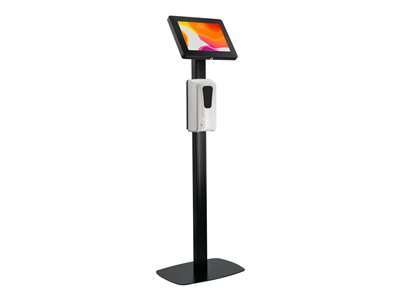 CTA Premium Thin Profile Floor Stand with Security Enclosure and Automatic Soap Dispenser