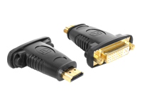 DeLOCK Adapter HDMI male > DVI 24+5 pin female - Videoanschluß