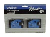 Brother - laminated tape - 2 cassette(s) - Roll (2.4 cm x 15.2 m)