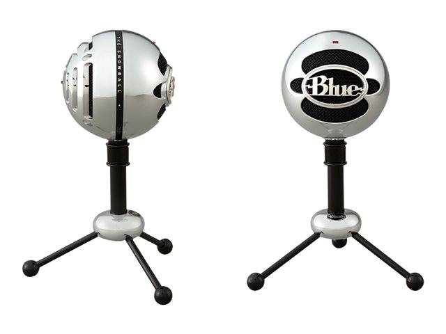 Blue Microphones Snowball - Microphone - brushed aluminum