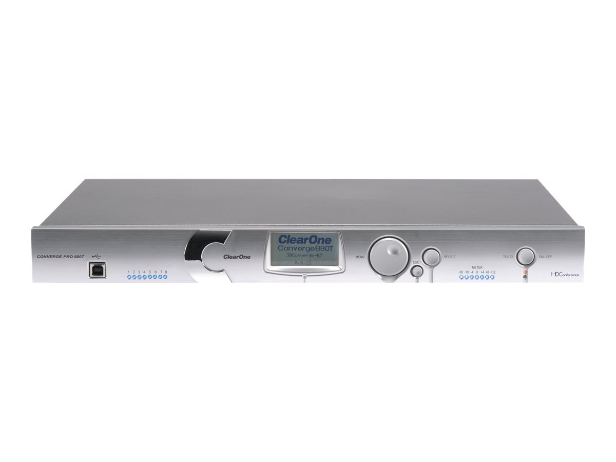 ClearOne Converge Pro 880T audio DSP platform