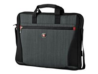 Wenger Structure 17INCH Laptop Slimcase Notebook carrying case 17INCH gray heather