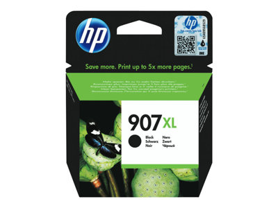 HP 907XL Sort 1500 sider