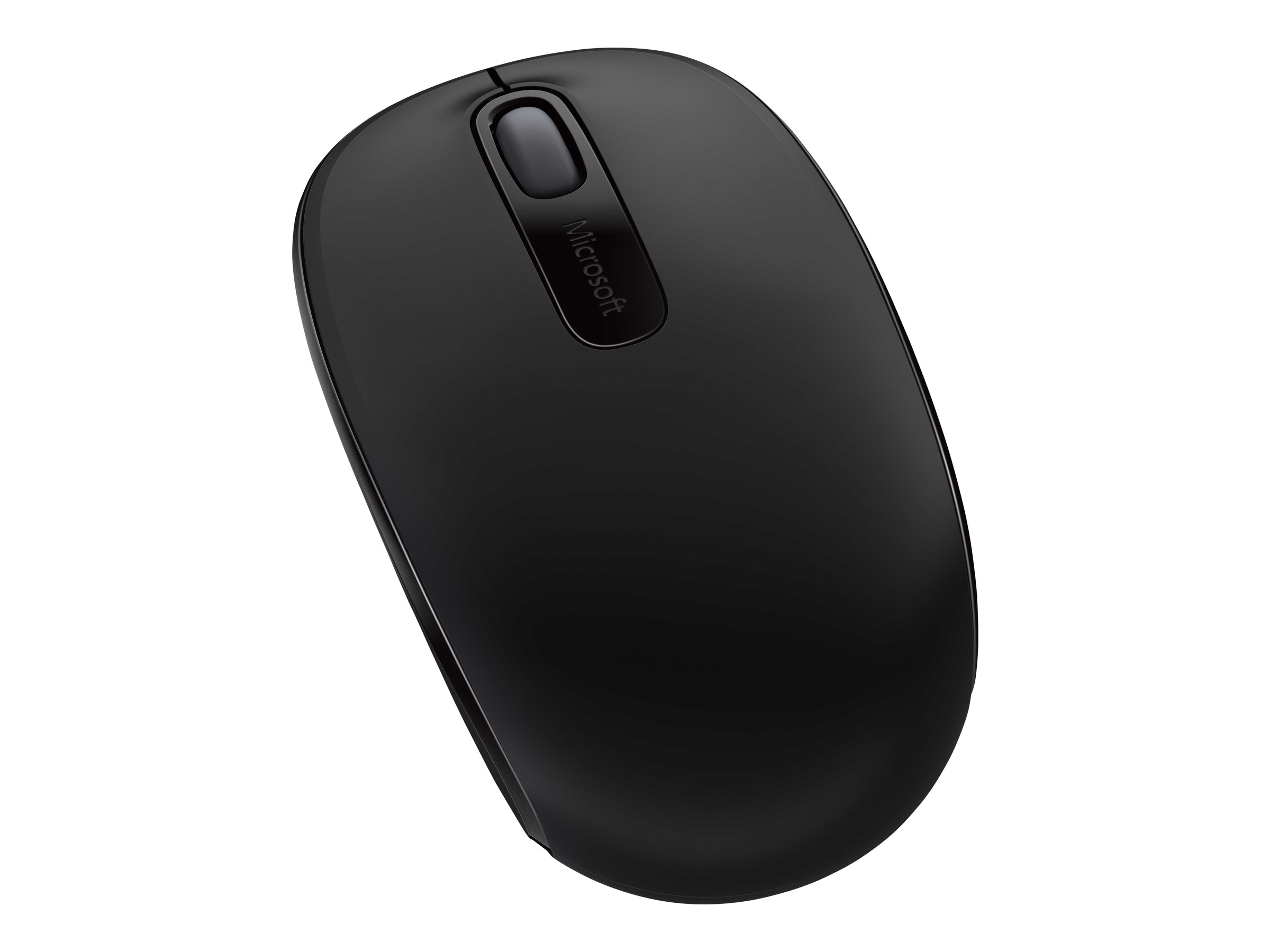 Microsoft Wireless Mobile Mouse 1850 for Business - mouse - 2.4 GHz - black