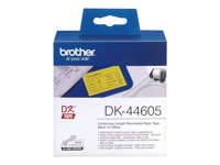 Brother DK44605 - Removable adhesive