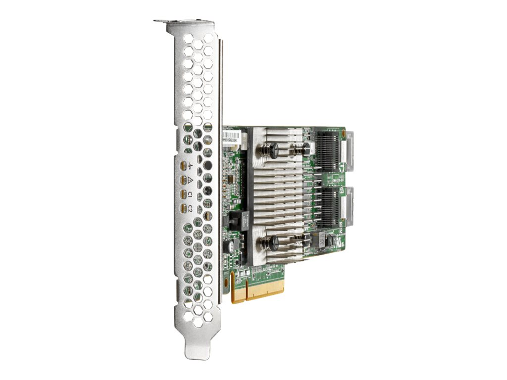 HPE H240 Smart Host Bus Adapter - storage controller - SATA 6Gb/s / SAS 12Gb/s - PCIe 3.0 x8