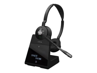 Jabra Engage 75 Stereo Trådløs Sort Headset