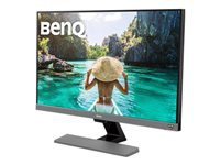 BenQ EW277HDR - HDR LED monitor - 27 - 1920 x 1080 Full HD (1080p) - A-MVA - 300 cd/m² - 3000:1 - 4 ms - 2xHDMI, VGA - speakers - metallic grey