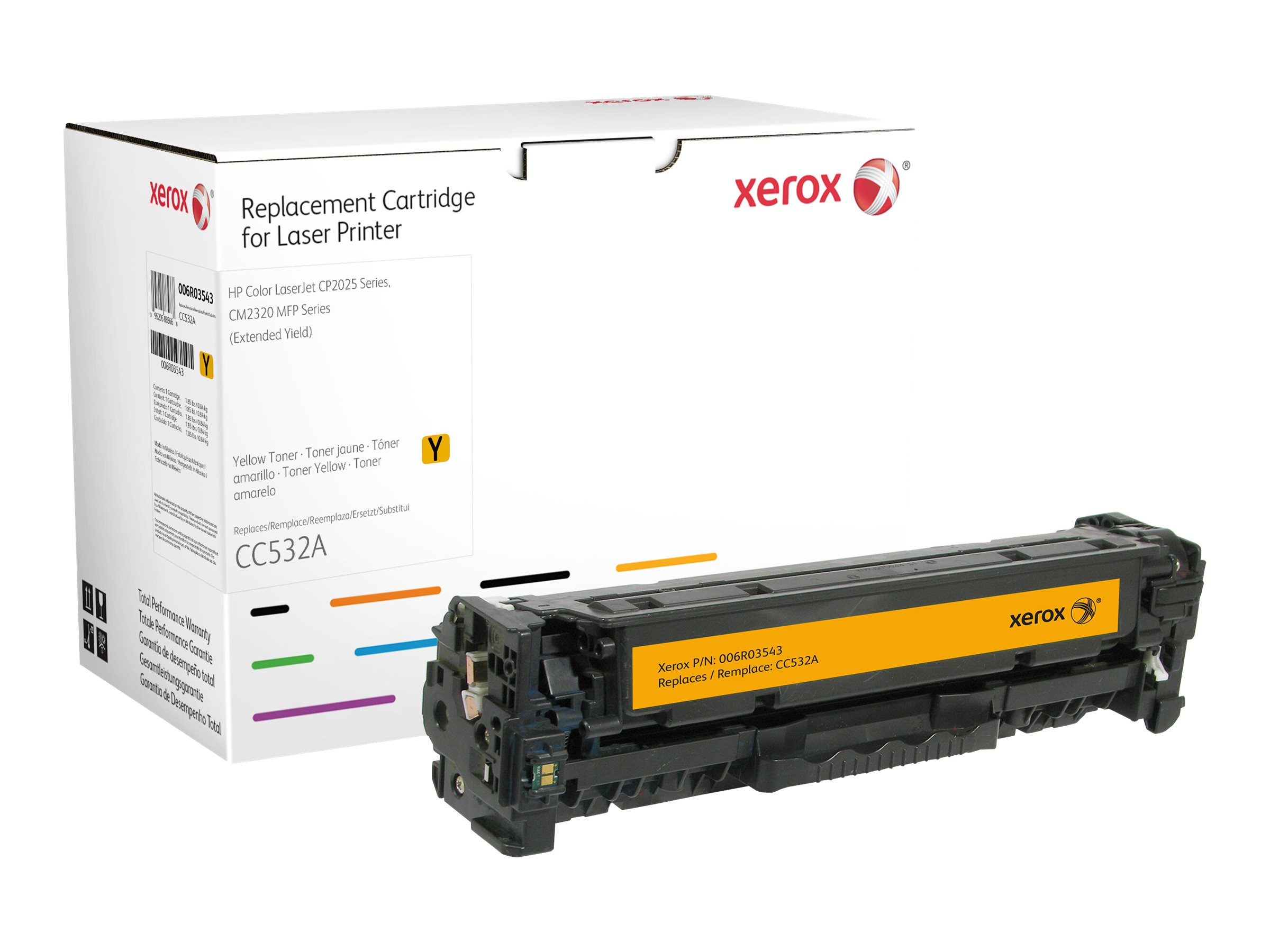 Xerox - Extended Yield - yellow - toner cartridge (alternative for: HP CC532A)