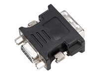 Targus VGA adapter HD-15 (VGA) (F) to DVI-I (M) thumbscrews black image