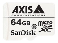 Picture of AXIS Surveillance - flash memory card - 64 GB - microSDXC (5801-951)