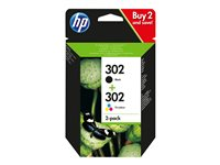 HP 302 Combo Pack - 2-pack