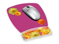 3M Gel Mouse Pad Wrist Rest MW308DS Mouse pad with wrist pillow daisy