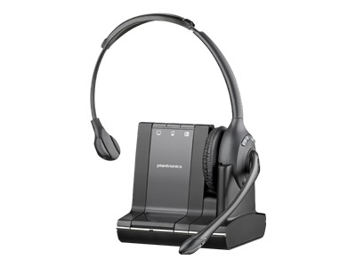 Plantronics Savi W710-M - 700 Series - headset - full size - wireless - DECT 6.0