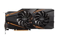 Gigabyte GeForce GTX 1070 WINDFORCE OC - Carte graphique - GF GTX 1070 - 8 Go GDDR5 - PCIe 3.0 x16 - DVI, HDMI, 3 x DisplayPort
