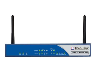 Check Point UTM-1 Edge NW ADSL Security appliance with 1 year TotalSecure 32 users GigE