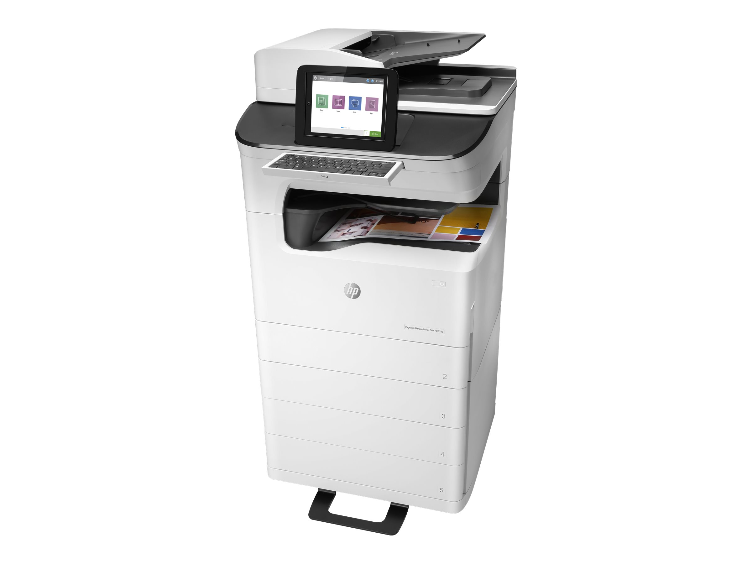 HP PageWide Ent Color Flw MFP785...