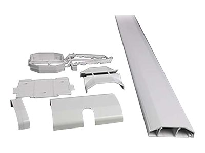 C2G Wiremold CableMate Kit - White - cable runway kit