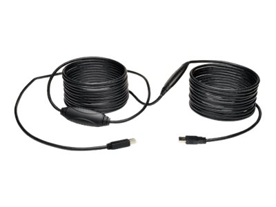 Tripp Lite 36ft USB 3.0 SuperSpeed Active Repeater Cable A Male/B Male 36'
