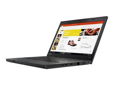 "Lenovo ThinkPad L470 20J4 (£100 Trade-in available)- Core i3 7100U / 2.4 GHz - Win 10 Pro 64-bit - 4 GB RAM - 500 GB HDD - 14"" 1366 x 768 (HD) - HD Graphics 620 - Wi-Fi, Bluetooth - WWAN upgradable - black https://lenovopromotions.co.uk/gb/en/pages/tradein/qualifying 01/05/2018 – 28/09/2018)"