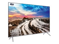 """Samsung UE49MU7000T - 49"""" Class - 7 Series LED TV - Smart TV - 4K UHD (2160p) 3840 x 2160 - HDR - local dimming, UHD dimming - stainless silver"""