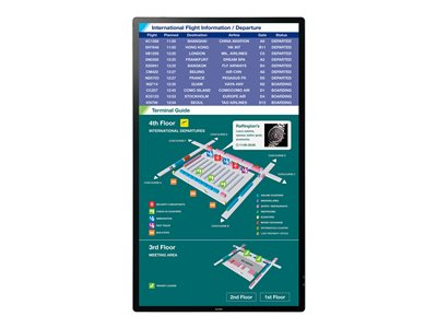 Sharp PN-L805H 80.5INCH Class (80INCH viewable) LED display digital signage