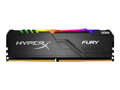 HyperX FURY RGB DDR4  32GB kit 3600MHz CL17  Ikke-ECC