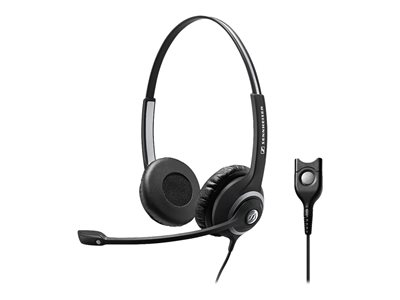 Sennheiser Circle SC 260 - Headset - on-ear - wired - active noise cancelling - Easy Disconnect - black