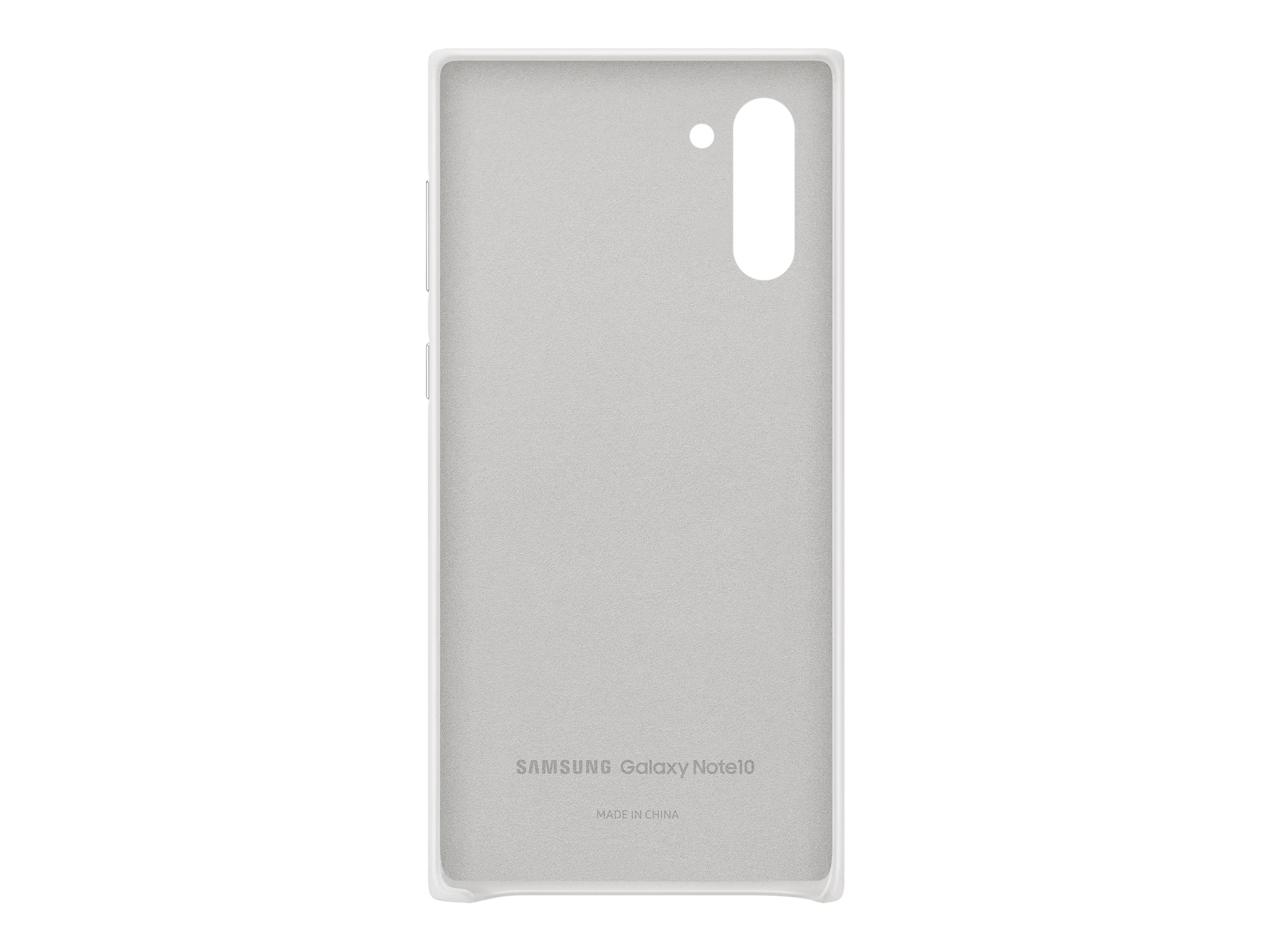 Samsung Leather Cover EF-VN970 - back cover for cell phone